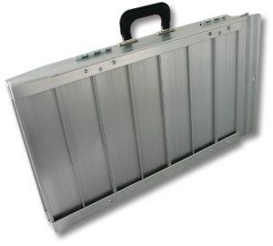 rampe d'accès valise