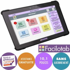 tablette tactile senior facilotab