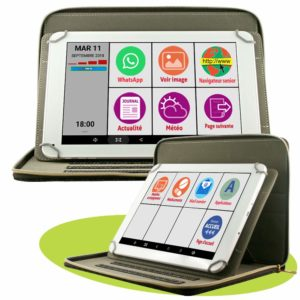 tablette tactile senior mobiho
