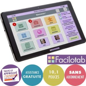 tablette tactile senior Facilotab 2