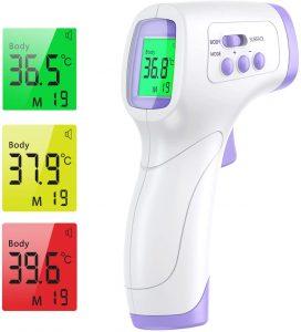 thermomètre infrarouge médical